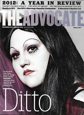 The Advocate Gay Magazine Beth Ditto Year In Review Barney Frank HIV Treatment