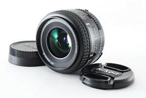 [Exc+5] Nikon AF Nikkor 35mm f/2 D Wide Angle Prime Lens F mount From Japan 507