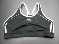 Adidas Size L Women's Black/White Athletic Work Out Bra 1A