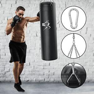 Box Set Boxsack 30kg gefüllt Stahlkette Halterung Sandsack Erwachsene ArtSport®