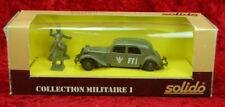 "Solido - WWII Militaire 6035 - Citroen 15 Six ""FFI"" - in OVP - 1:43"