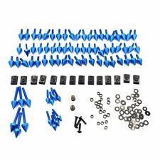 For Honda CBR600 F4 F4i CBR600RR F5 Blue Universal Spike Fairing Bolt Screw Kit