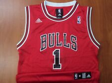 Vintage Adidas NBA Chicago Bulls Derrick Rose Authentic Boys Jersey M 10-12