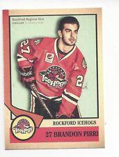 2012-13 Rockford IceHogs (AHL) Brandon Pirri (Chicago Wolves)