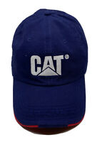 Cat Equipment Built For It Adjustable Adult Baseball Cap Hat Strap-back Blue
