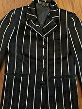 Al Capone Wedding Church KIDS SPORTS JACKET Suit Coat STRIPED LINED BOYS Sz 7 R