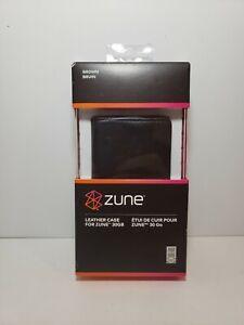 Microsoft Zune Brown Leather Case Brand New