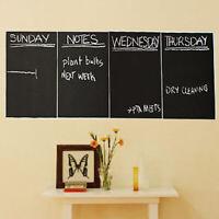 4X Removable Chalkboard Wall Sticker Blackboard Decal Chalk Board Contact Paper