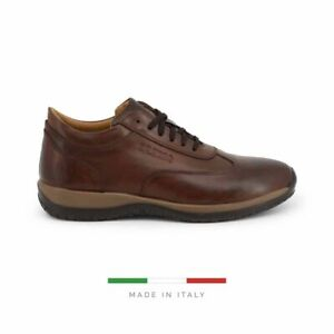 Sparco Imola-GP1 Brown Shoes Sneakers in Leather