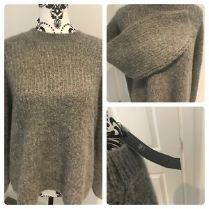 M&S grey thick jumper bnwt grey marl Bnwt size large batwing Marks and Spencers