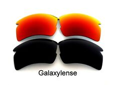 Galaxy Replacement Lenses For Oakley Flak 2.0 XL Sunglasses Black&Red