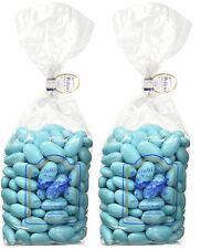 Confetti Pelino - Confetti Celeste alla Mandorla Sicilia Bambino - 2x500g