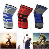 Antislip Basketball Leg Knee Protector Crashproof Long Sleeve Gear Honeycomb Pad