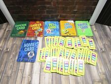 2004 Game of Life Spongebob Squarepants Replacement 78 Game Cards 50 Life Tiles
