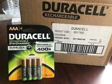 24 Packs Of Duracell Rechargeable AAA Batteries - 4ct/pack