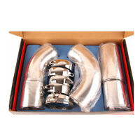 3 inch Turbo Intake Intercooler Piping Cold/ Hot Pipe Hose Aluminium Set 5pcs