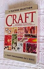CRAFT: 6 FEATURE SELECTION – DVD, 3-DISC BOX SET, REGION-ALL, NEW, FREE POST