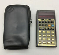 Vintage HP-38C Hewlett Packard Calculator, Untested, Made in Singapore As Is F17