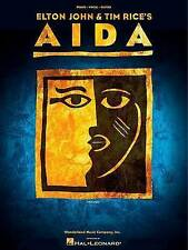Elton John & Tim Rice: Aida Vocal Selections by Hal Leonard Corporation...