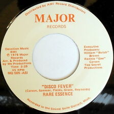 RARE ESSENCE: Disco Fever / Huff And Puff 45 Hear! (Detroit, Disco) Soul