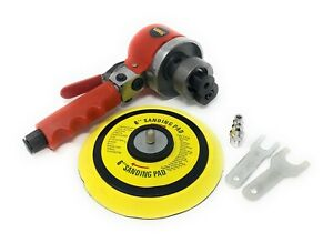 "6"" Dual Action Air Sander Random Orbital Sanding"