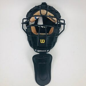 Wilson LBX Umpire Baseball Fastpitch Softball Protective Mask & Throat Guard