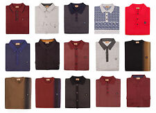 Men's Fitted Long Sleeve No Pattern Cotton Blend Casual Shirts & Tops