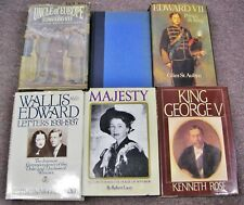 The Windsors Royal Family Queen Elizabeth II Edward VII George V Wallis 6 books