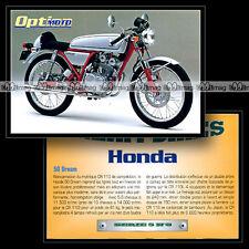 HONDA 50 DREAM - Fiche Moto #OM5.8