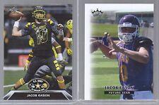 JACOB EASON 2015 & 2016 LEAF 1ST EVER PRINTED ROOKIE CARD LOT! GEORGIA BULLDOGS!