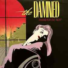 "THE DAMNED - Thanks For The Night (12"") (VG-/VG-)"