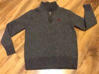 Henri Lloyd Merino Wool Boys Jumper Size L