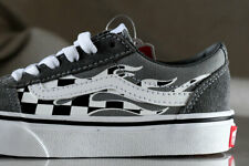VANS WARD FLAME CHECK shoes for boys, NEW & AUTHENTIC,  size (KIDS) 13