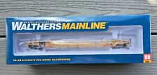WALTHERS MAINLINE 1/87 HO TTX 53' NSC WELL CAR 3-UNIT RD #620156 F/S # 910-55067