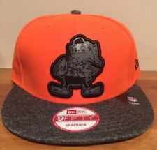 Cleveland Browns Official NFL New Era Gridiron Snapback 9FIFTY Cap Hat Brownie