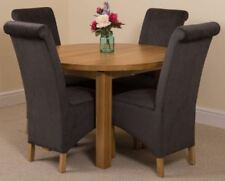 Dining Room Oval Piece Table & Chair Sets 5