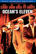 Oceans Eleven (DVD, 2007 WIDESCREEN) VERY GOOD