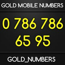 EASY GOLD 786 VIP 786786 GOLDEN 786 786 MOBILE PHONE NUMBER 07867866595