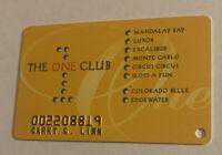 The One Club Players Card Las Vegas Nevada Mandalay Resort Group