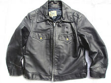 BLOUSON CUIR BLAUER 44US VESTE POLICE BOSTON HORSEHIDE LEATHER JACKET LEDERJACKE