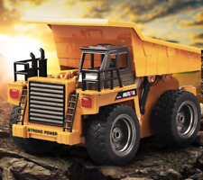 RC Coal Mine Alloy Dump Truck With Music & Light 6 Channel 2.4GHz Wireless