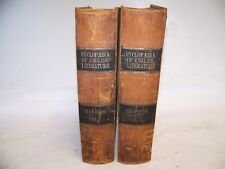 1847 Cyclopedia of English Literature edited Robert Chambers kendall lincoln