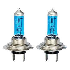 2x Xenon White H7 55W Super Bright Blue Glass Headlight Halogen Light Bulbs 12V