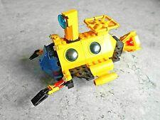 SET LEGO SYSTEM AQUAZONE - [ SOUS-MARIN ] + 1 FIGURINE - VINTAGE