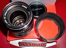 Canon FD 50mm f/1.4 S.S.C.,Fast Prime, M-/EX+, Hood, Film/Digital, Free Ship USA