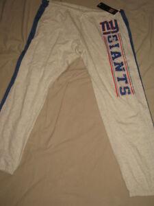 NFL New York Giants Football Vintage Sweat Pants Womens Sizes  Nwt