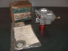 1952-1962 Ford Edsel Mercury 6 OEM NOS 196 L6 Carter AS 1 Barrel Carburetor 3349