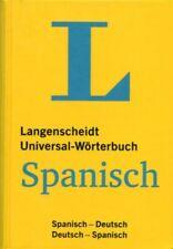 Spanisch Deutsch Universal-Wörterbuch / Langenscheidt