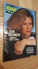 Rivista CIAK Numero 11 Novembre 1987 Kim Basinger + locandine