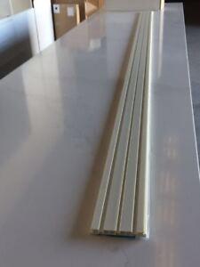 Kitchen Kickboard (3000mm*120mm*8mm) Brush Aluminium Laminate